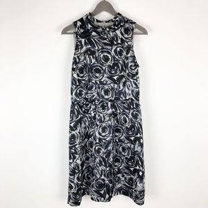 Ann Taylor Petites Sleeveless Mock Neck Dress 10P